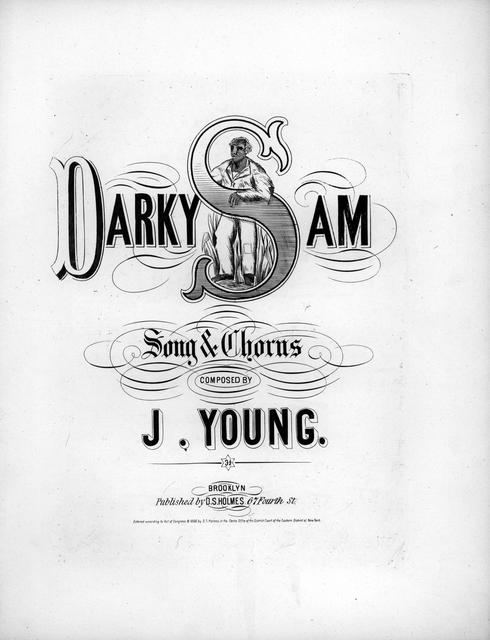 Darky Sam: song & chorus composed by J. Young.