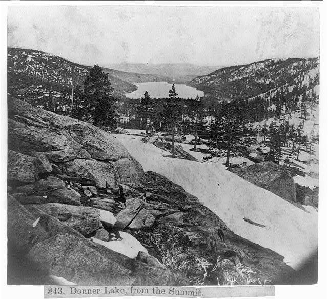 Donner Lake, from the Summit