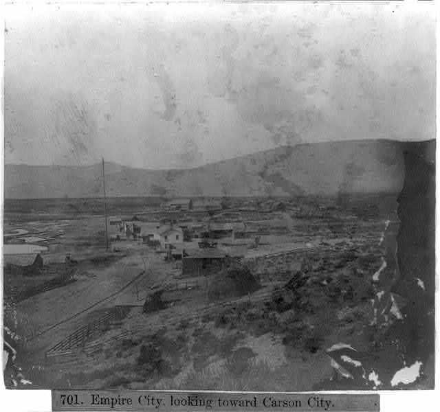 Empire City, looking toward Carson City