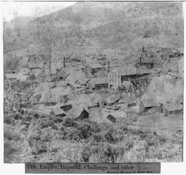 Empire, Imperial, Challenge, and other Mining Works at Gold Hill