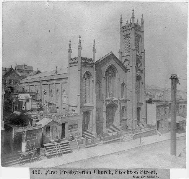 First Presbyterian Church, Stockton Street, San Francisco