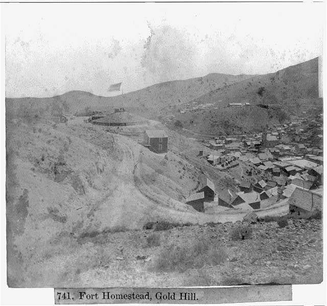Fort Homestead, Gold Hill