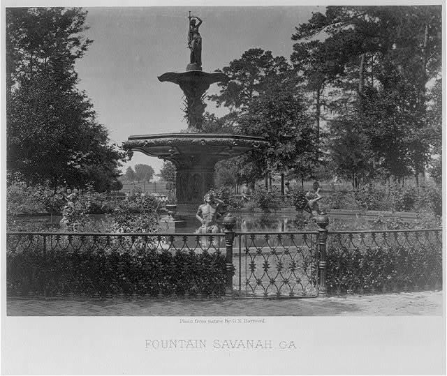 Fountain, Savannah, Ga.