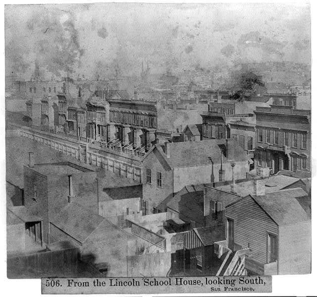 From the Lincoln School House, looking South, San Francisco