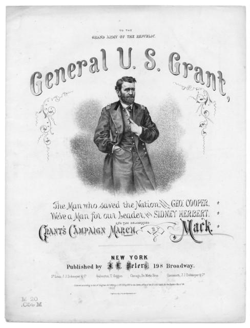 General Grant's campaign march