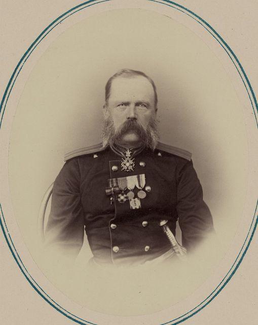 Georgievskie kavalery i nagrazhdennye zolotym oruzhiem. Za vziatie Dzhiuzaka [sic] 18-go Oktiabria 1866 g. Pol: Ar: Piekh: N. V. Grigor'iev