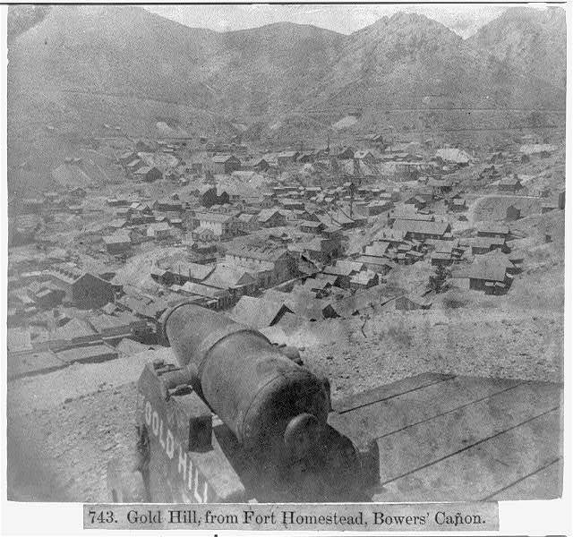 Gold Hill, Fort Homestead, Bower's Canyon