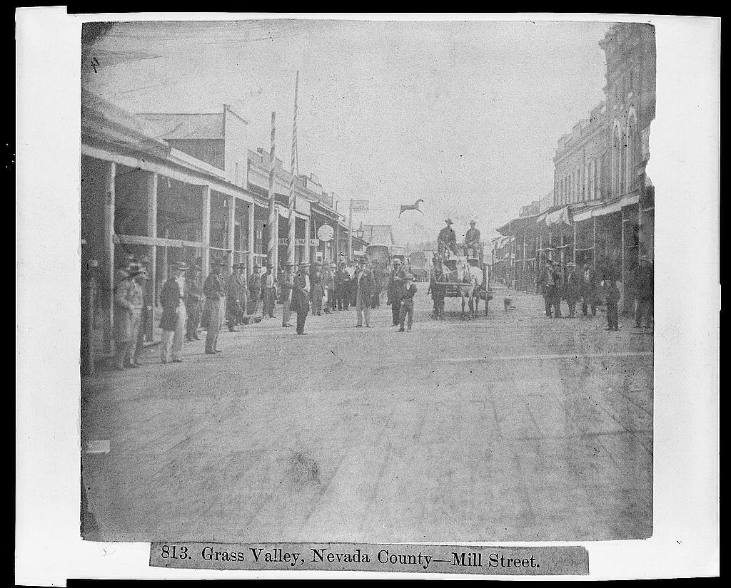 Grass Valley, Nevada Co. - Mill St.
