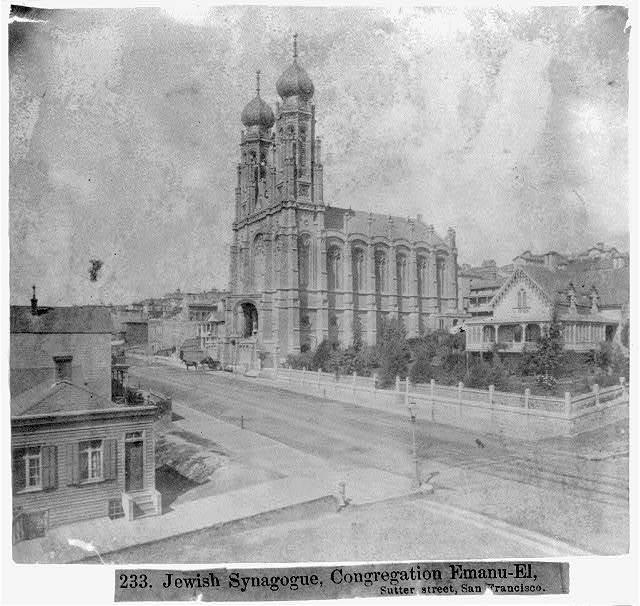 Jewish Synagogue, Congregation Emanu-El, Sutter Street, San Francisco