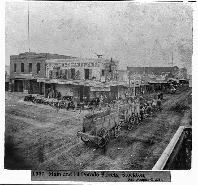 Main and El Dorado Streets, Stockton, San Joaquin County