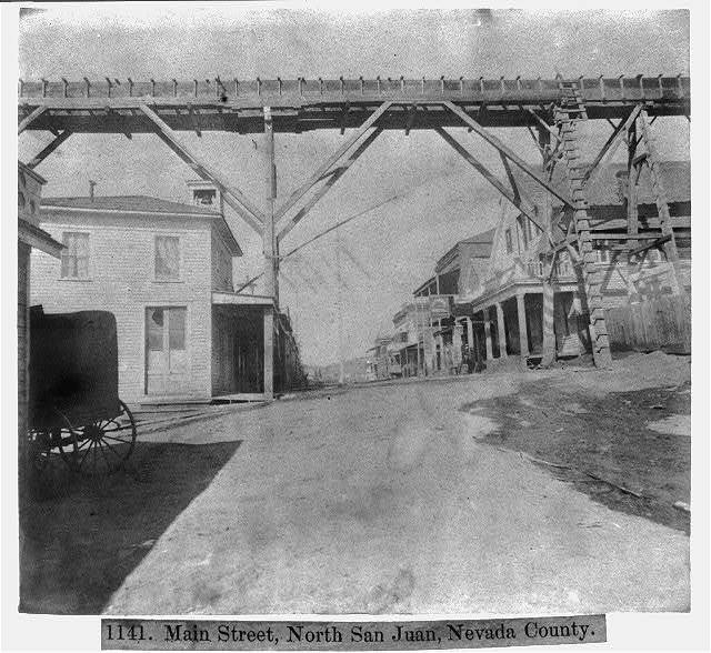 Main St., North San Juan, Nev. County