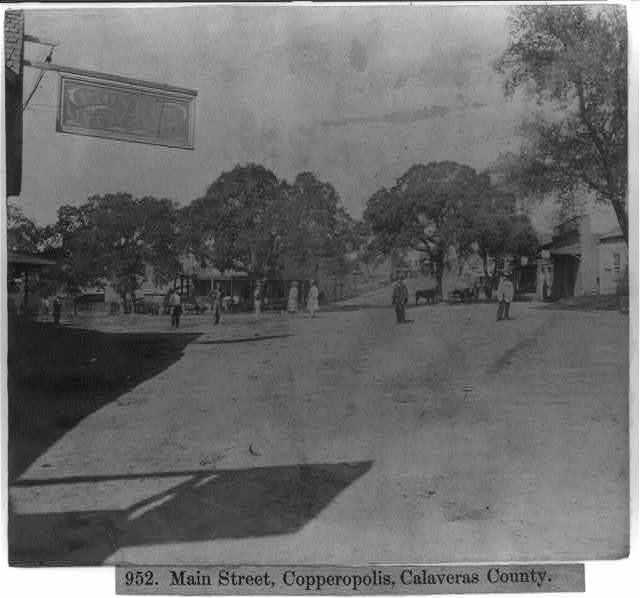Main Street, Copperopolis, Calaveras County