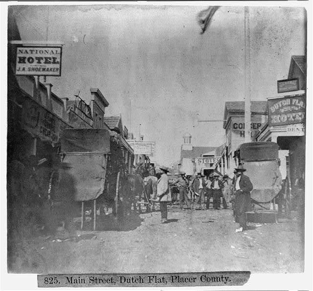 Main Street, Dutch Flat, Placer County