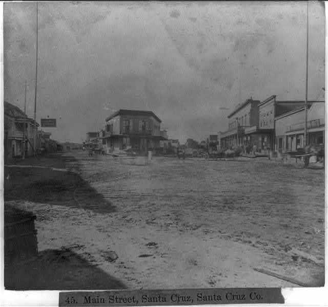 Main Street, Santa Cruz, Santa Cruz County