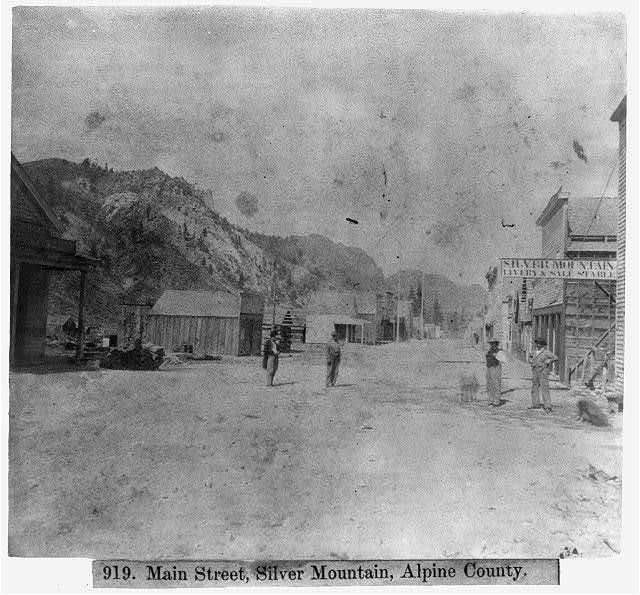 Main Street, Silver Mountain, Alpine County
