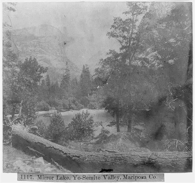 Mirror Lake - Yosemite Valley, Mariposa County