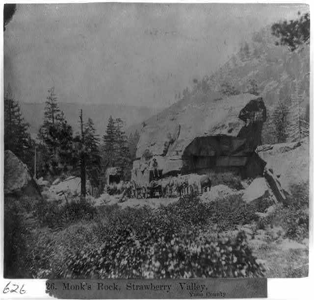 Monk's Rock, Strawberry Valley - Yuba County