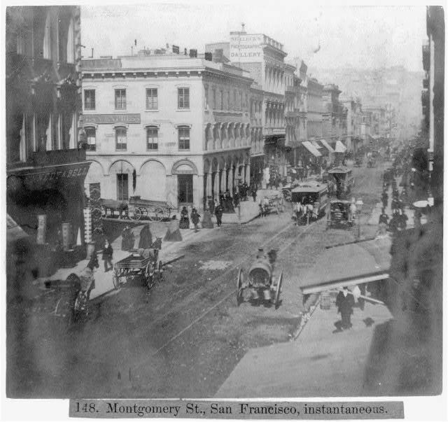 Montgomery Street, San Francisco, Instantaneous