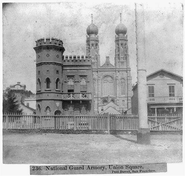 National Guard Armory, Union Square, Post Street, San Francisco