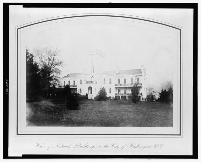Old Soldiers' Home (summer residence of the President)