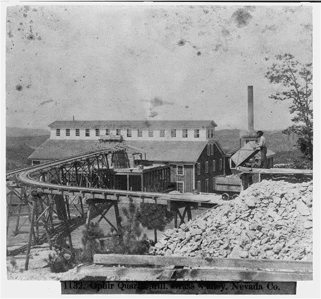 Ophir Quartz Mill, Grass Valley, Nevada County