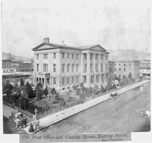 Post Office and Custom House, Battery Street, San Francisco