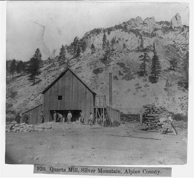Quartz Mill, Silver Mountain, Alpine County