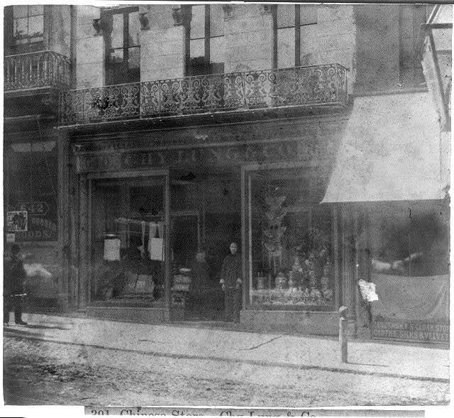 San Francisco, Calif. - Chy Lung & Co.'s store, Sacramento St.