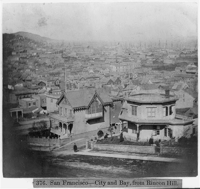 San Francisco--City and Bay, from Rincon Hill