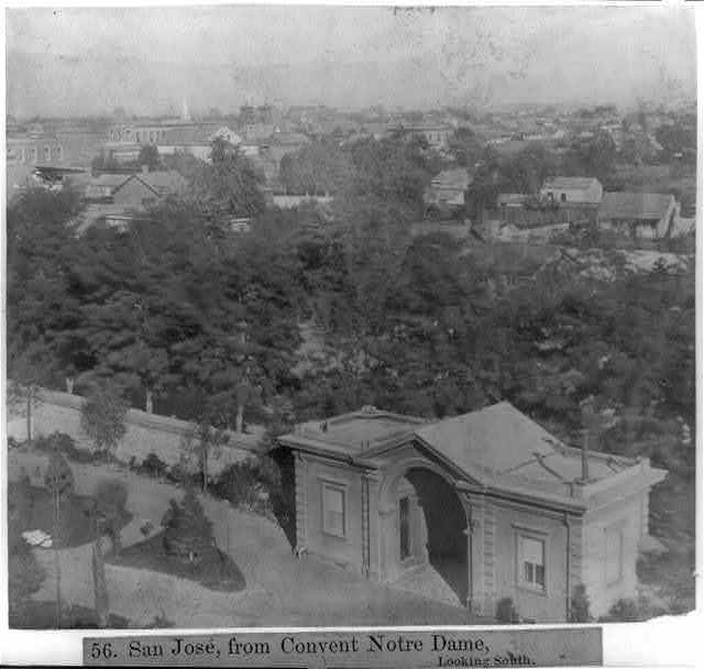 San José, from Convent Notre Dame, looking South