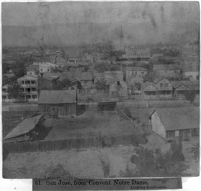 San José, from Convent Notre Dame, looking South-East