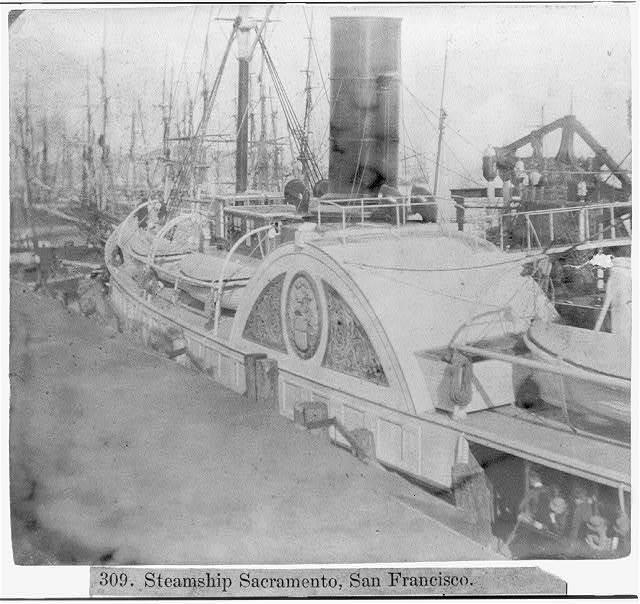 Steamship SACRAMENTO, San Francisco
