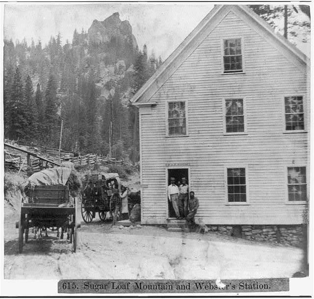 Sugar Loaf Mountain, and Webster's Station