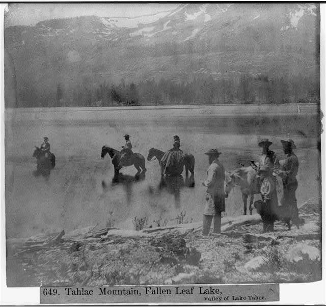Tahlac Mountain, Fallen Leaf Lake, Valley of Lake Tahoe