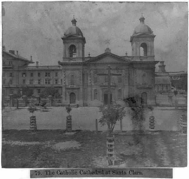 The Catholic Cathedral at Santa Clara