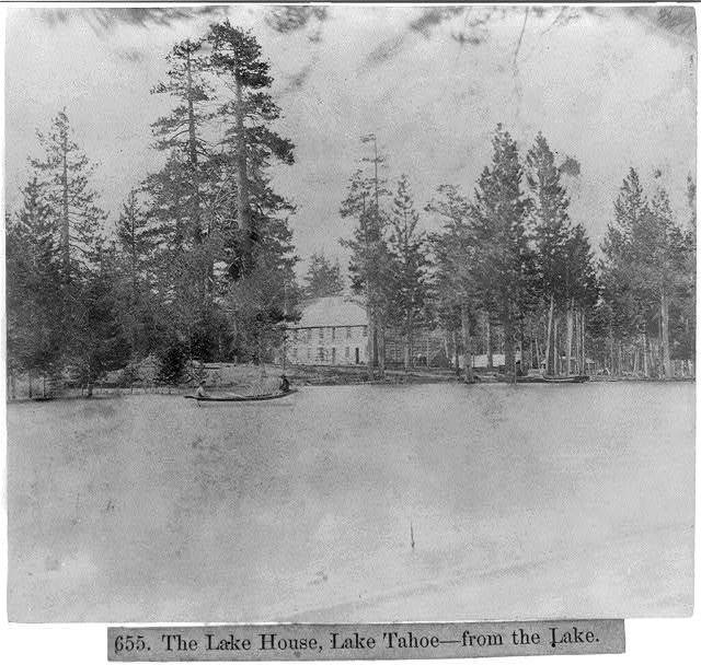 The Lake House, Lake Tahoe--from the lake.
