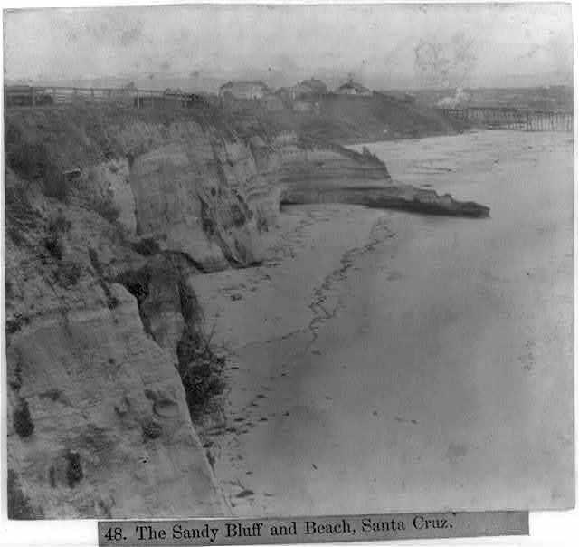 The Sandy Bluff and Beach, Santa Cruz
