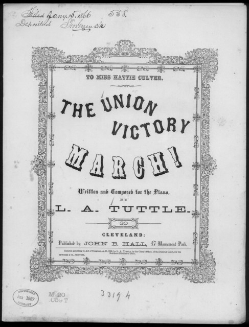 The  Union victory march