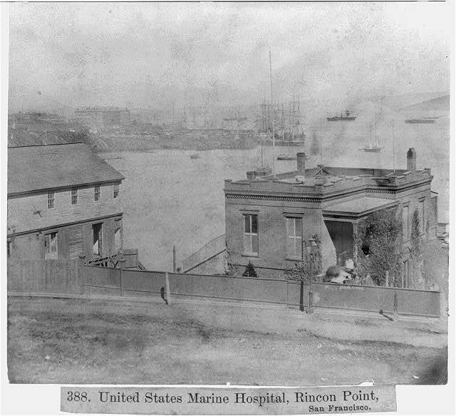 U.S. Marine Hospital, Rincon Point, San Francisco