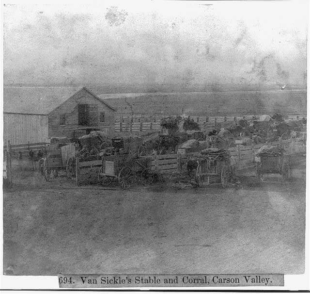 Van Sickle's Stable and Corral, Carson Valley