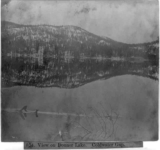 View on Donner Lake - Coldwater Gap