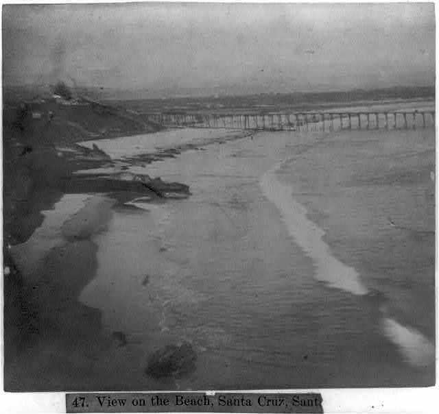 View on the Beach, Santa Cruz, Santa Cruz County