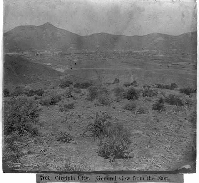 Virginia City - General view from the East