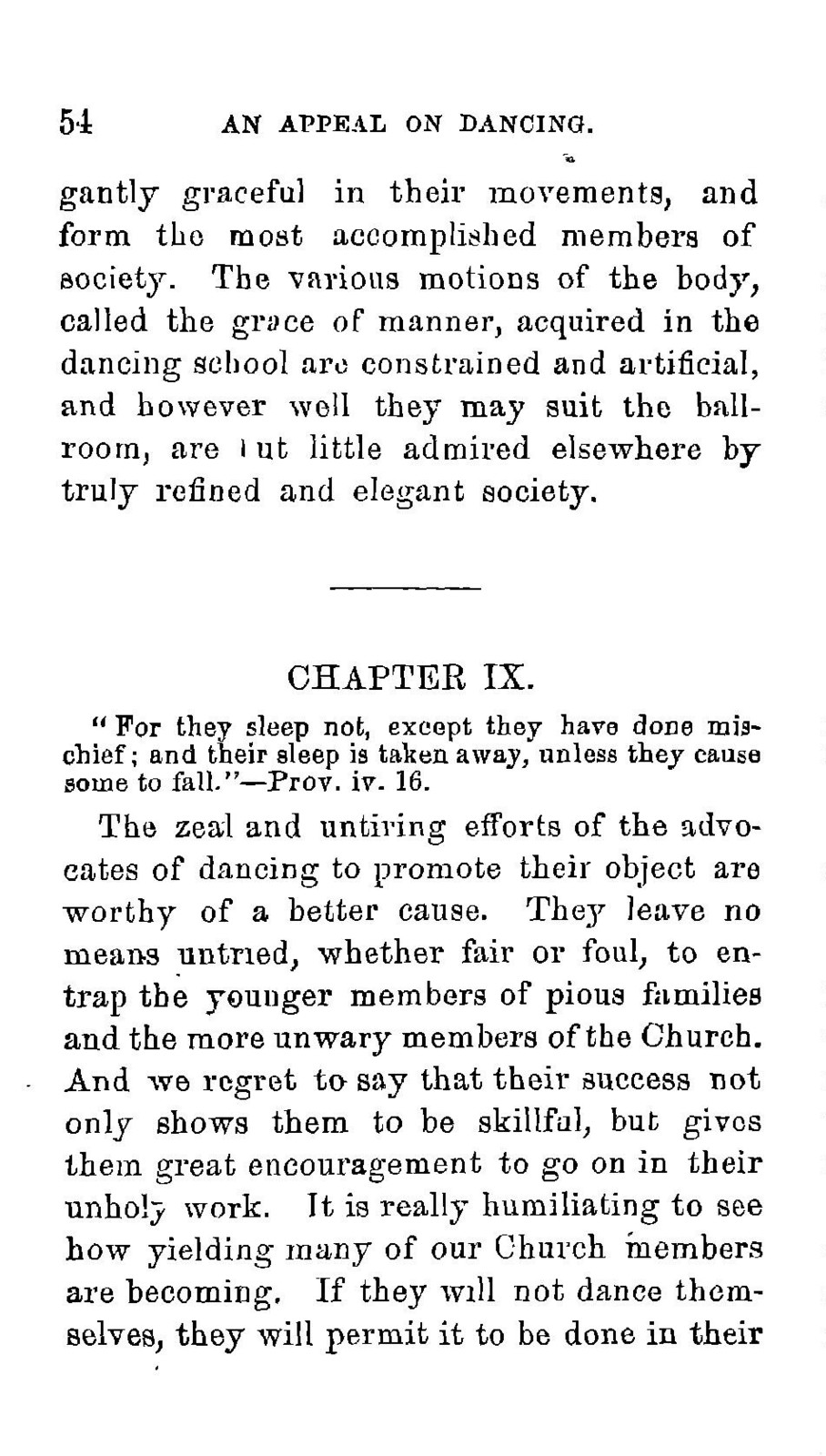 An  appeal to all Christians, especially the members of the Methodist Episcopal Church, against the practice of social dancing
