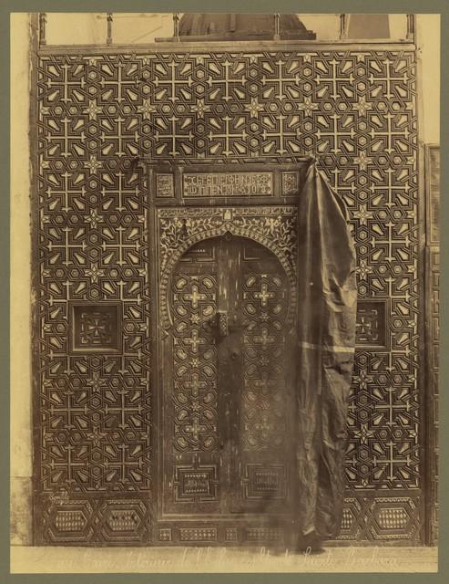 Caire. Intérieur de l'Église cophte du Sainte Barbara