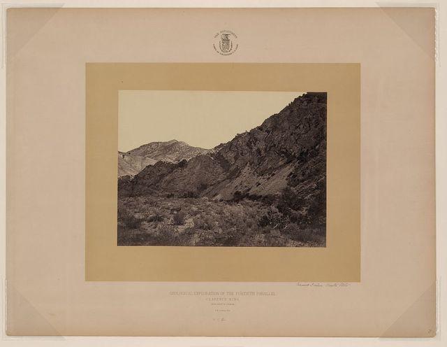 Garnet Cañon, Uinta Mts. / T. H. O'Sullivan, phot.