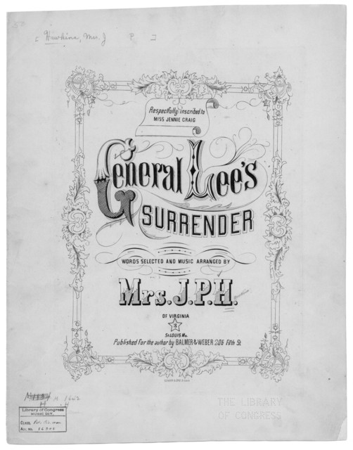 General Lee's surrender