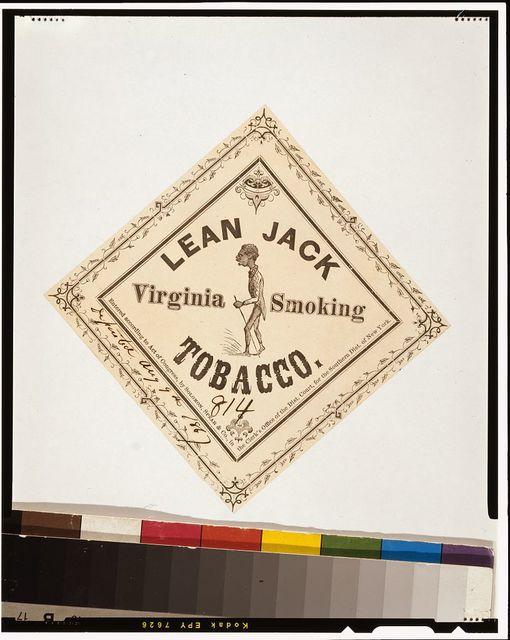 Lean Jack Virginia smoking tobacco