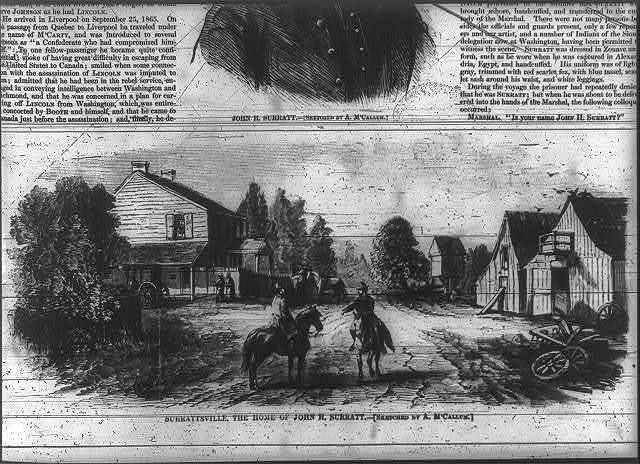 Surrattsville, the Home of John H. Surratt