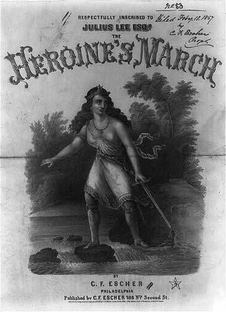 The Heroine's March by C.F. Escher
